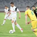 """Meciul dintre FC Vaslui şi """"U"""" Cluj se anunţă a fi unul pe viaţă şi pe moarte / Foto: Dan Bodea"""