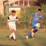 Calcan a evoluat ca titular  în amicalul cu Târgu-Mureș / Foto: Dan Bodea