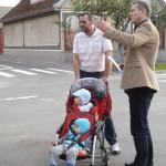 Viceprimarul Malan discuta cu locuitorii din Oncea