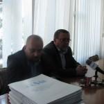 Teancul de dosare a fost predat secretarului județului.
