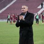 Paltonul i-a purtat noroc lui Grigoraş la meciul cu Oţelul / Foto: Dan Bodea