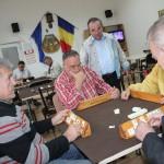 Pensionari membri ai clubului de pe strada Horea/ FOTO Dan Bodea