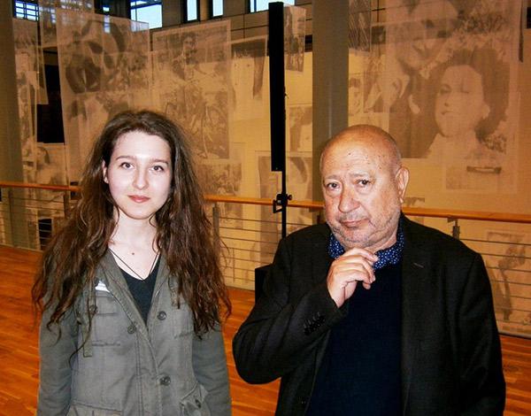 Luciana Tamas la Kunstmuseum Wolfsburg / Sursa foto: facebook.com