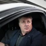 Ioan Mărginean a ieșit nervos din sala de judecată,   după termenul de miercuri,   când judecătorul sindic a dispus amânarea declarării falimentului Universității Cluj / Foto Dan Bodea