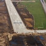 FOTO/ Horea Uioreanu a testat noua pistă a aeroportului