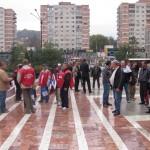 Aproximativ 20 de sindicalişti au participat la pichetare