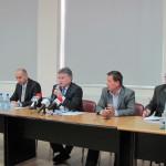 Conducerea Consiliului Judeţean şi a Instituţiei Prefectului,   la întâlnirea cu primarii