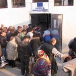 La Zalău,   distribuirea se face la un punct termic de pe strada Avram Iancu