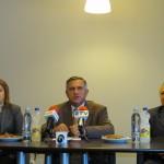 Gheorghe Funar a venit la Zalău însoţit de secretarul general al PRM,   Corneliu Ciontu