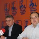 Lucian Bode şi Claudiu Bîrsan au susţinut vineri o conferinţă de presă