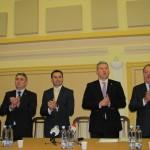 Vasile Blaga,   la Zalău alături de Cătălin Predoiu şi Gheorghe Falcă