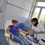 15 angajaţi ABA Crisuri au donat sange