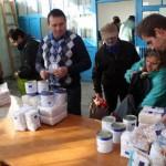 Peste 12.000 de orădeni,   aşteptaţi să-şi ridice ajutoarele alimentare de la UE