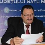 Mircea Ardelean, directorul AJFP Satu Mare, a organizat marți, o conferință de presă, la sediul instituției
