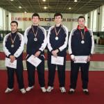 Medalii de aur pentru CS Satu Mare la Cupa României,   spadă seniori ediţia 2013. Foto:Inforrmatia Zilei.ro