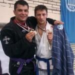 Camil Moldoveanu (foto stânga) a adus României prima medalie de aur la Jocurile Mondiale de luptă SportAccord / Foto: blog.absoluto.ro