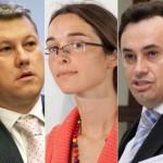 Simona Crețu,    Gheorghe Falcă şi  Cătălin Predoiu