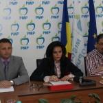 Liderii sătmăreni ai partidului Mișcarea Populară au organizat astăzi o conferință de presă