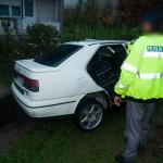 Poliţiştii l-au prins pe bărbat după o urmărire de doi km