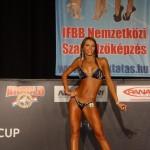 Cristina Conțiu a demonstrat că are un trup de invidiat,   iar juriul a răsplătit-o cu medalia de argint la Cupa Mondială