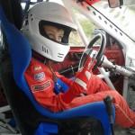 David Tarța nu a avut emoții la prima participare la un Campionat Național de automobilism