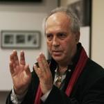 Eifert Janos a prezentat publicului câteva din lucrările expuse