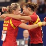 Daniela Dodean şi Eliza Samara au dus echipa României în semifinalele Campionatului European de tenis de masă