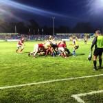 Știința Baia Mare a luptat până la capăt în finala SupwerLigii Naționale de rugby,   dar au pierdut pentru a doua oară consecutiv trofeul / FOTO www.frr.ro/facebook