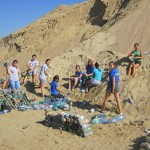 Tabăra ecologică a început în luna august