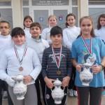 Trei clasări pe podium în Ungaria pentru floretiştii de la CS Satu Mare