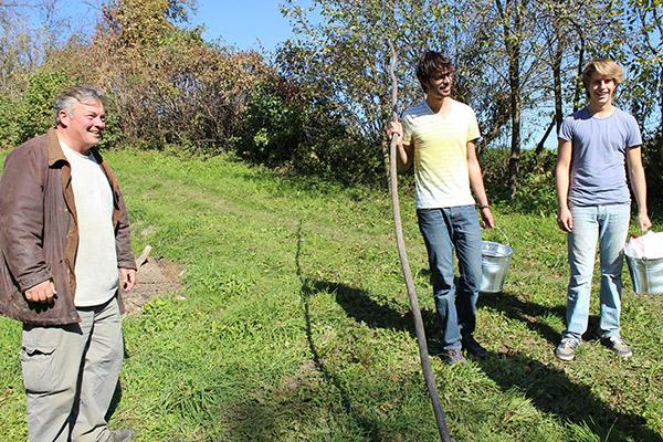 Tineri din toată lumea fac voluntariat la Breb