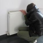 Şcolile şi-au scurtat programul pentru a-i expune mai puţin pe copii la frig