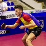 Hunor Szocs nu a reușit să salveze meciul din finala împotriva Italiei,   însă România s-a calificat totuși în divizia Championship.