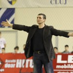 Achim s-a declarat mulțumit de brigada care a oficiat partida jucată împotriva Clujului/ Foto: Dan Bodea