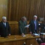 Alexandru Bondrea a depus jurământul de învestire joi