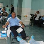 Jandarmii sătmăreni au donat sânge în repetate rânduri