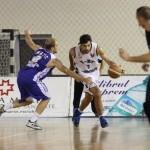 Ivan Kuburovic a terminat partida împotriva Chiajnei cu 19 puncte/ Foto: Dan Bodea