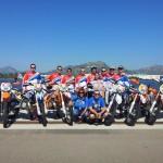 Echipa României,   alături de staff-ul tehnic,   au ocupat un onorant loc 18 la ediţia jubiliară Six Days Enduro,   desfăşurată în Sardinia
