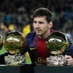 """Messi a câştigat ultimele patru """"Baloane de Aur"""""""