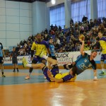 Handbaliștii de la Minaur Baia Mare au făcut un meci frums,   dar s-au recunoscut învinși la finalul partidei cu HC Odorhei din Liga Națională / Foto Bogdan purcaru