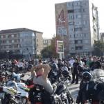 Peste 300 de motociclisti au participat la mars