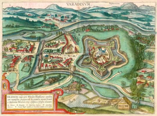 Oradea în 1617