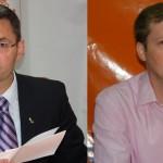 Cei doi candidaţi la şefia PDL Satu Mare: Petre Mureşan şi Sergiu Băbăşan