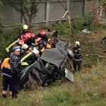 Accidentul a avut loc duminică în jurul orei 14.00