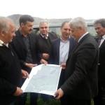 Oficialii celor două delegaţii  s-au deplasat  la punctul de trecere Tepliţa