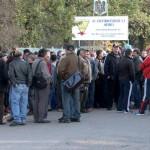 Peste 250 de angajati protesteaza Sursa foto- Digi24 Oradea