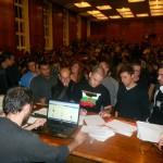 Studenții au ocupat cea mai importantă universitatea din capitala Bulgariei