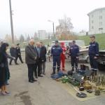 Oficialii au vizitat unitatea de pompieri din Ivano-Frankivsk