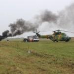 Actiunea a avut ca scop verificarea capacităţii de intervenţie a tuturor factorilor implicaţi în astfel de situații de urgență