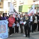 Protestul a avut loc în faţa Instituţiei Prefectului / Fotoreporter: Vasile Mihovici